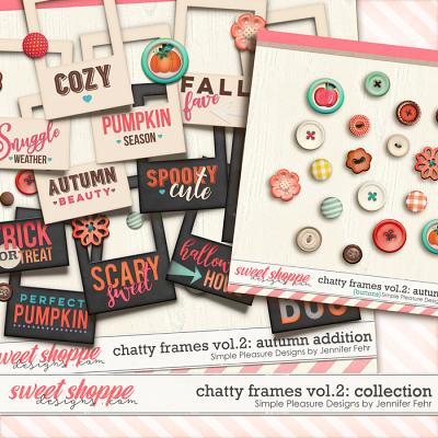 chatty frames vol.2 autumn addition: Simple Pleasure Designs by Jennifer Fehr