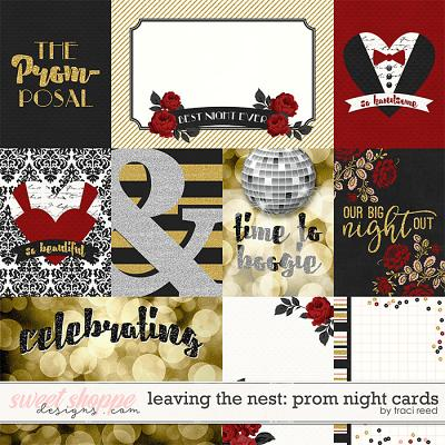 Leaving The Nest: Prom Night Cards by Traci Reed