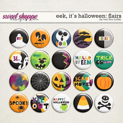 Eek, It´s Halloween: Flairs by Two Tiny Turtles