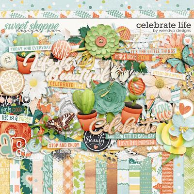 Celebrate Life by WendyP Designs