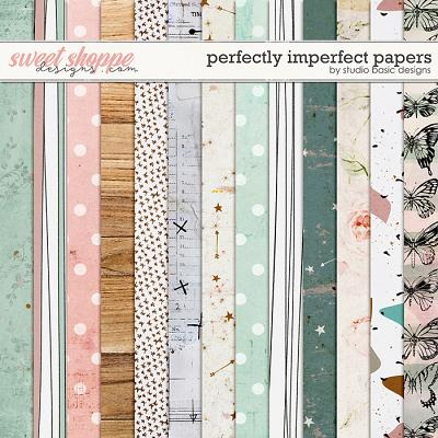 Perfectly Imperfect Papers by Studio Basic