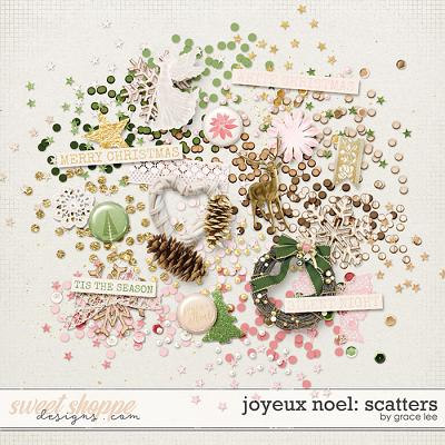 Joyeux Noel: Scatters by Grace Lee