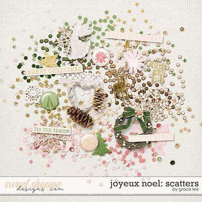 Joyeux Noel: Scatters by Grace Lee