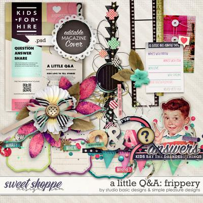 A Little Q&A Frippery by Simple Pleasure Designs and Studio Basic