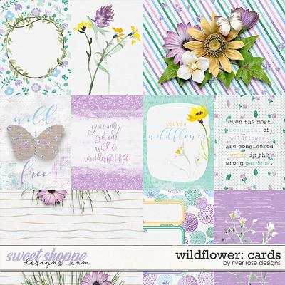 Wildflower: Cards by River Rose Designs