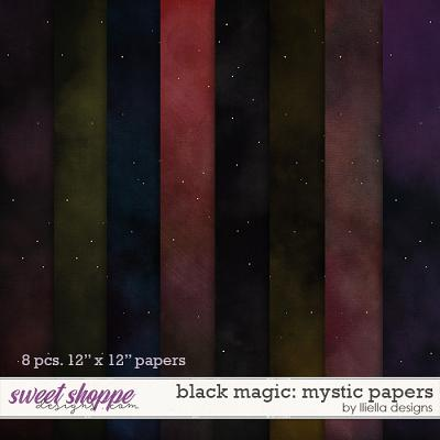 Black Magic: Mystic Papers by lliella designs