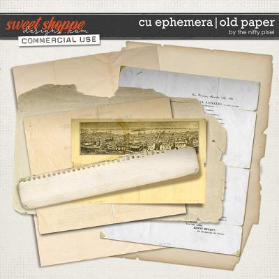 CU EPHEMERA | OLD PAPER by The Nifty Pixel