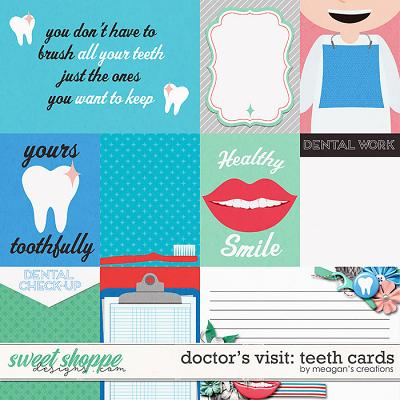 Doctor's Visit: Teeth Cards by Meagan's Creations