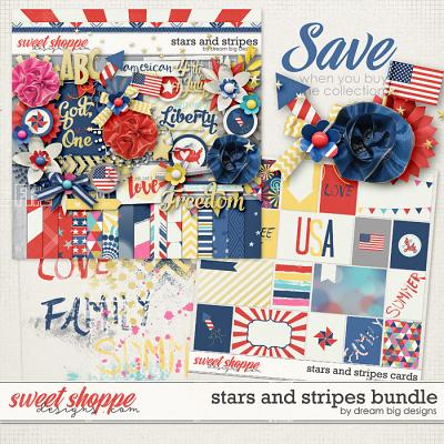 Stars and Stripes Bundle by Dream Big Designs