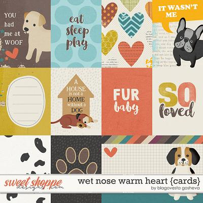 Wet nose warm heart {cards} by Blagovesta Gosheva