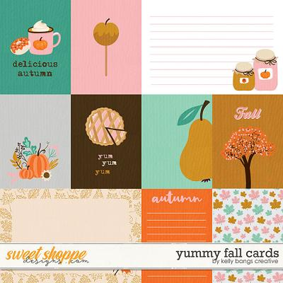 Yummy Fall Cards by Kelly Bangs Creative