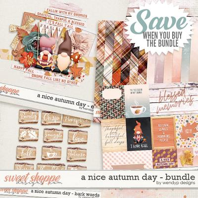 A nice autumn day - Bundle by WendyP Designs