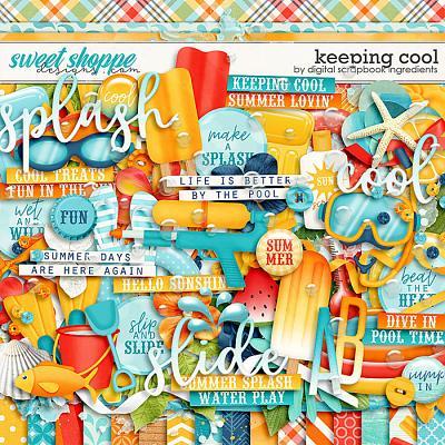 Keeping Cool by Digital Scrapbook Ingredients
