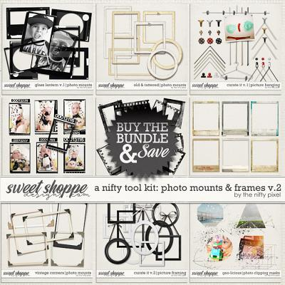 A NIFTY TOOL KIT | PHOTO MOUNTS & FRAMES V.2 by The Nifty Pixel