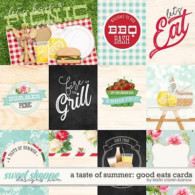 A Taste of Summer: Good Eats Cards
