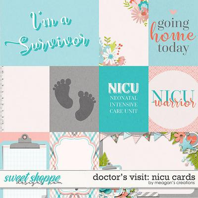 Doctor's Visit: NICU Cards by Meagan's Creations