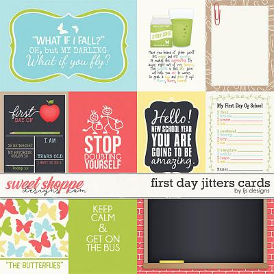 First Day Jitters Cards by LJS Designs