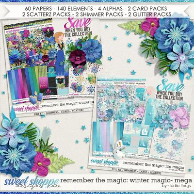 Remember the Magic: WINTER MAGIC- MEGA COLLECTION by Studio Flergs