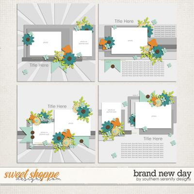 Brand New Day Layered Templates by Southern Serenity Designs