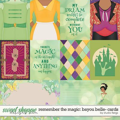 Remember the Magic: BAYOU BELLE- CARDS by Studio Flergs