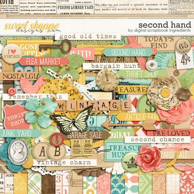 Second Hand by Digital Scrapbook Ingredients