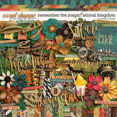 Remember the Magic: ANIMAL KINGDOM by Studio Flergs