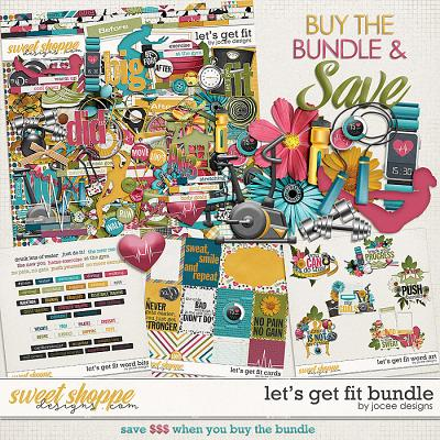 Let's Get Fit Bundle by JoCee Designs