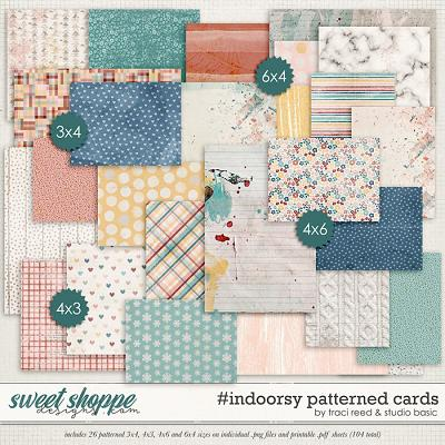 #indoorsy Patterned Cards by Studio Basic and Traci Reed