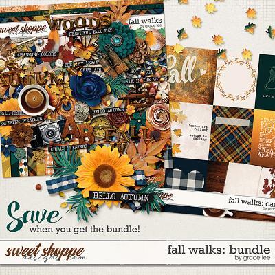 Fall Walks: Bundle by Grace Lee