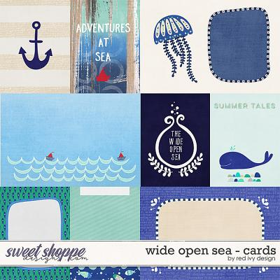 Wide Open Sea - Cards by Red Ivy Design