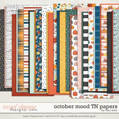October Mood TN Papers by Traci Reed