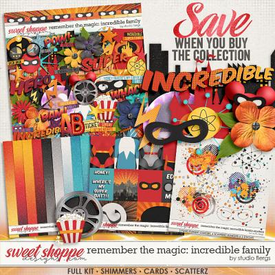 Remember the Magic: INCREDIBLE FAMILY- COLECTION & *FWP* by Studio Flergs