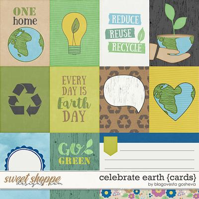 Celebrate Earth {cards} by Blagovesta Gosheva