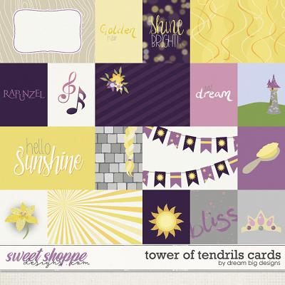 Tower of Tendril Cards by Dream Big Designs