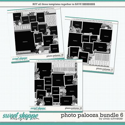 Cindy's Layered Templates - Photo Palooza Bundle 6 by Cindy Schneider