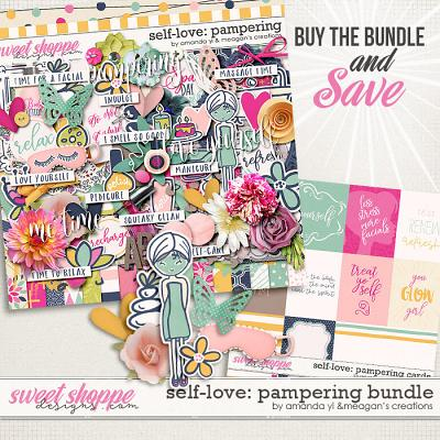 Self-Love: Pampering Bundle by Amanda Yi & Meagan's Creations