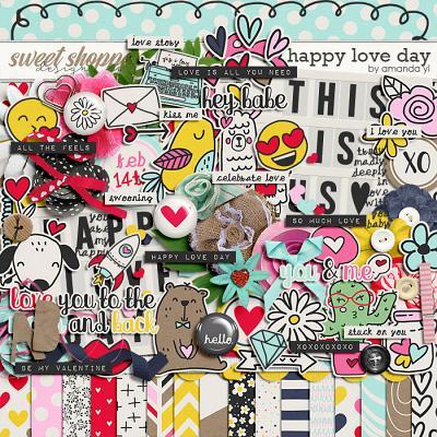 Happy love day by Amanda Yi