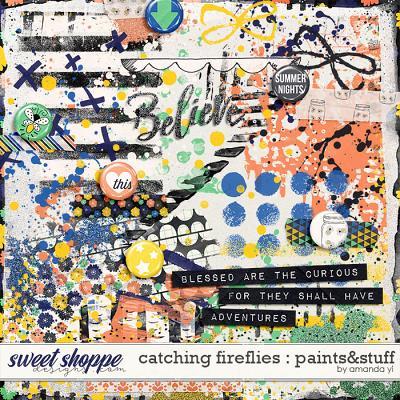 Catching Fireflies : Paints & Stuff by Amanda Yi