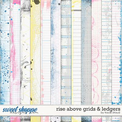 Rise Above Grids & Ledgers by Tracie Stroud