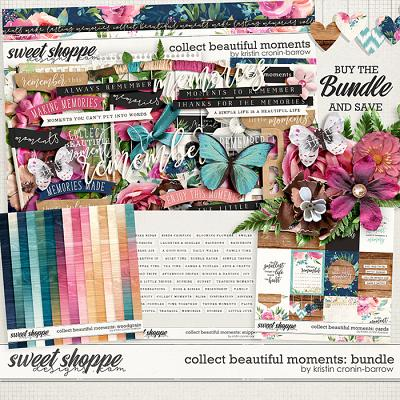Collect Beautiful Moments: Bundle by Kristin Cronin-Barrow