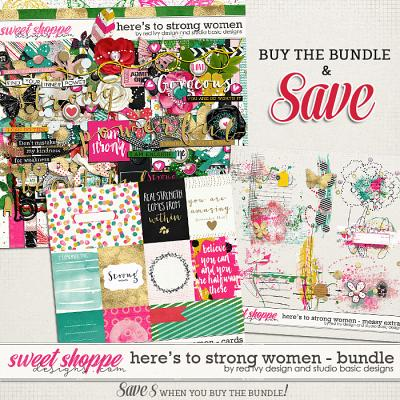 Here's To Strong Women Bundle by Red Ivy Design and Studio Basic