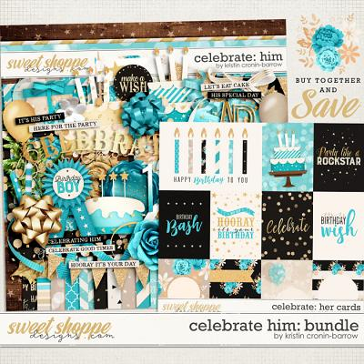 Celebrate: Him Bundle by Kristin Cronin-Barrow