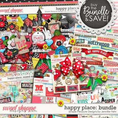 happy place bundle: Simple Pleasure Designs by Jennifer Fehr