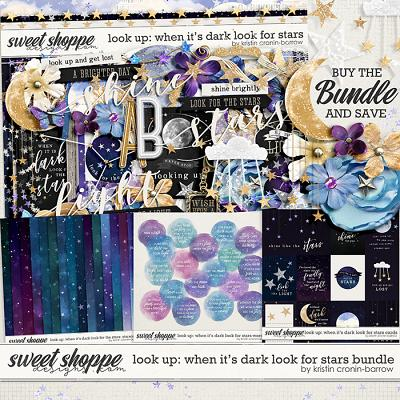 Look Up: When it's Dark look for Stars Bundle by Kristin Cronin-Barrow