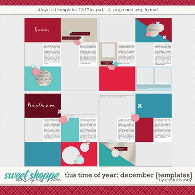 This Time of Year: December [Templates] by Crystal Livesay
