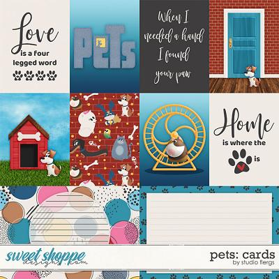 Pets: CARDS by Studio Flergs