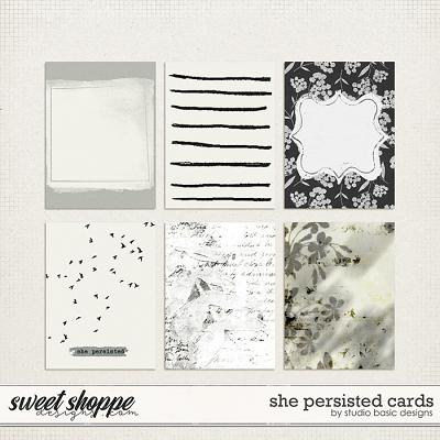 She Persisted Cards by Studio Basic