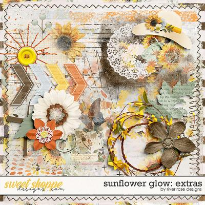 Sunflower Glow: Extras by River Rose Designs