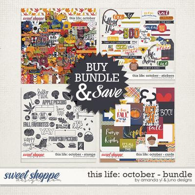 This Life: October - Bundle by Amanda Yi & Juno Designs
