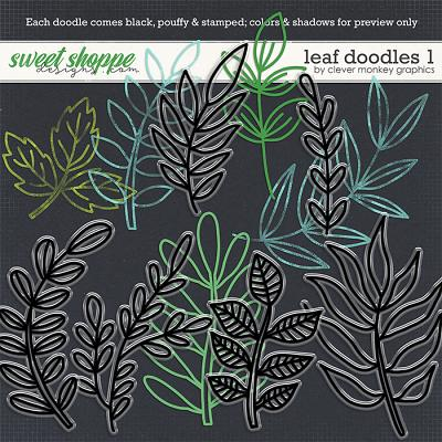 Leaf Doodles 1 by Clever Monkey Graphics